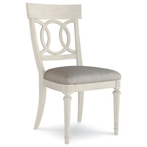 Sophie Side Chair with Fabric Seat