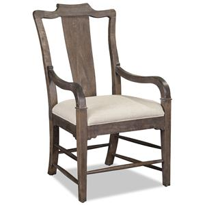 Arm Chair with Splat Back