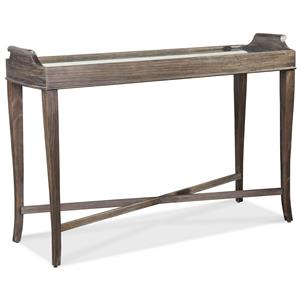 Console Table with Mirror Top