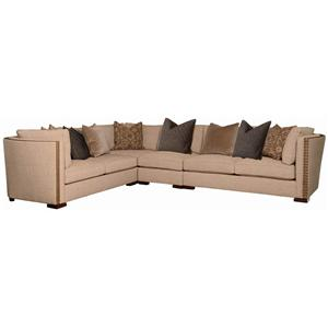 A.R.T. Furniture Inc Madison Bourbon Sectional