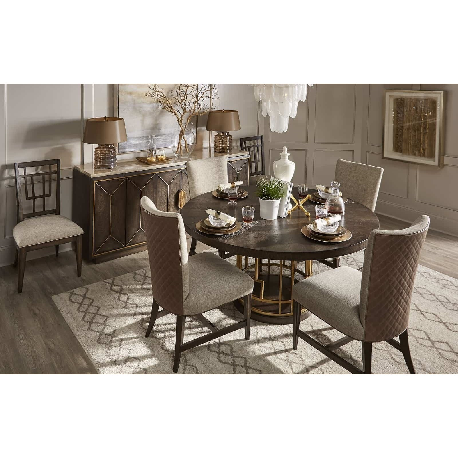 WoodWright Casual Dining Room Group by Klien Furniture at Sprintz Furniture