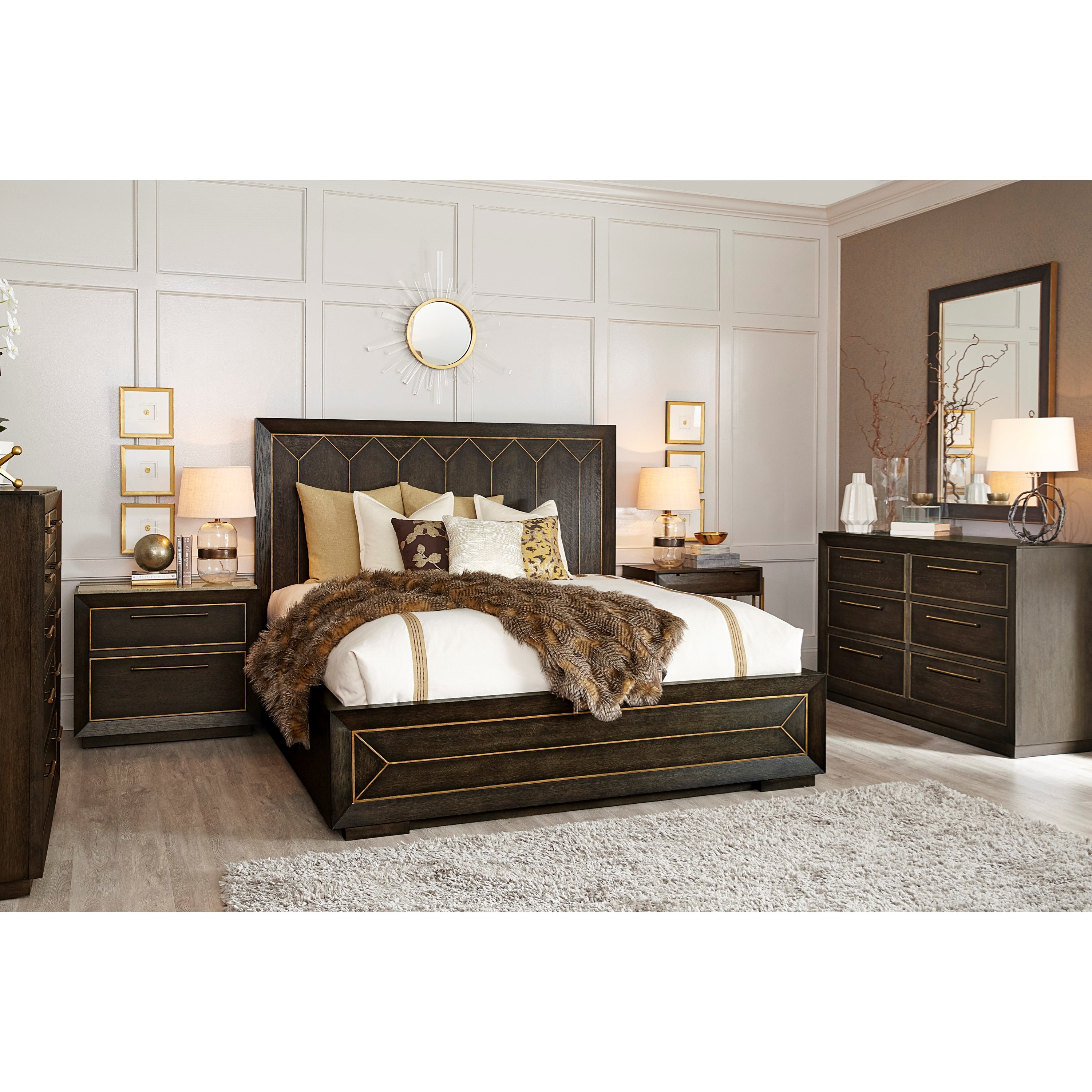 WoodWright Queen Bedroom Group by A.R.T. Furniture Inc at Home Collections Furniture