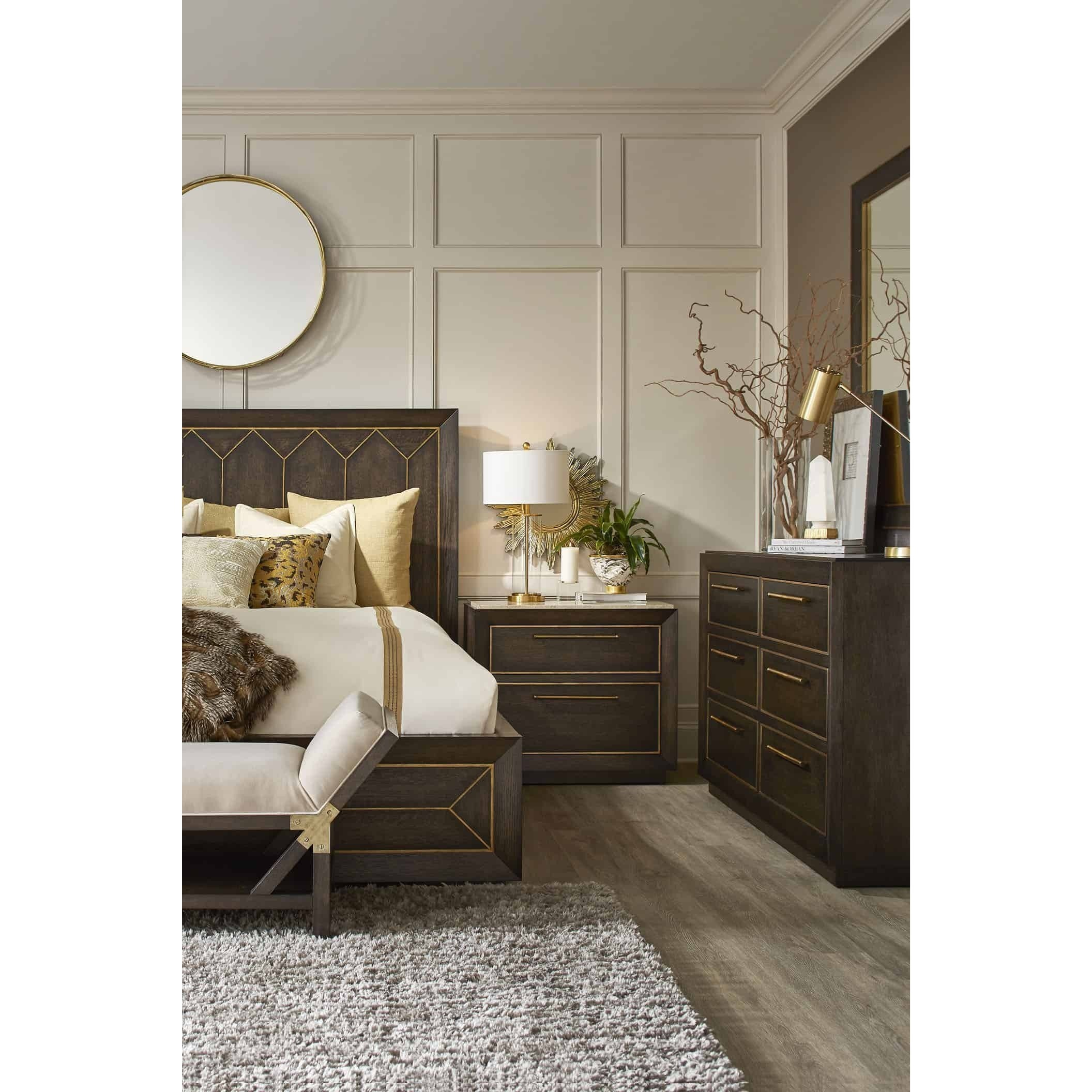 WoodWright King Bedroom Group by A.R.T. Furniture Inc at Hudson's Furniture