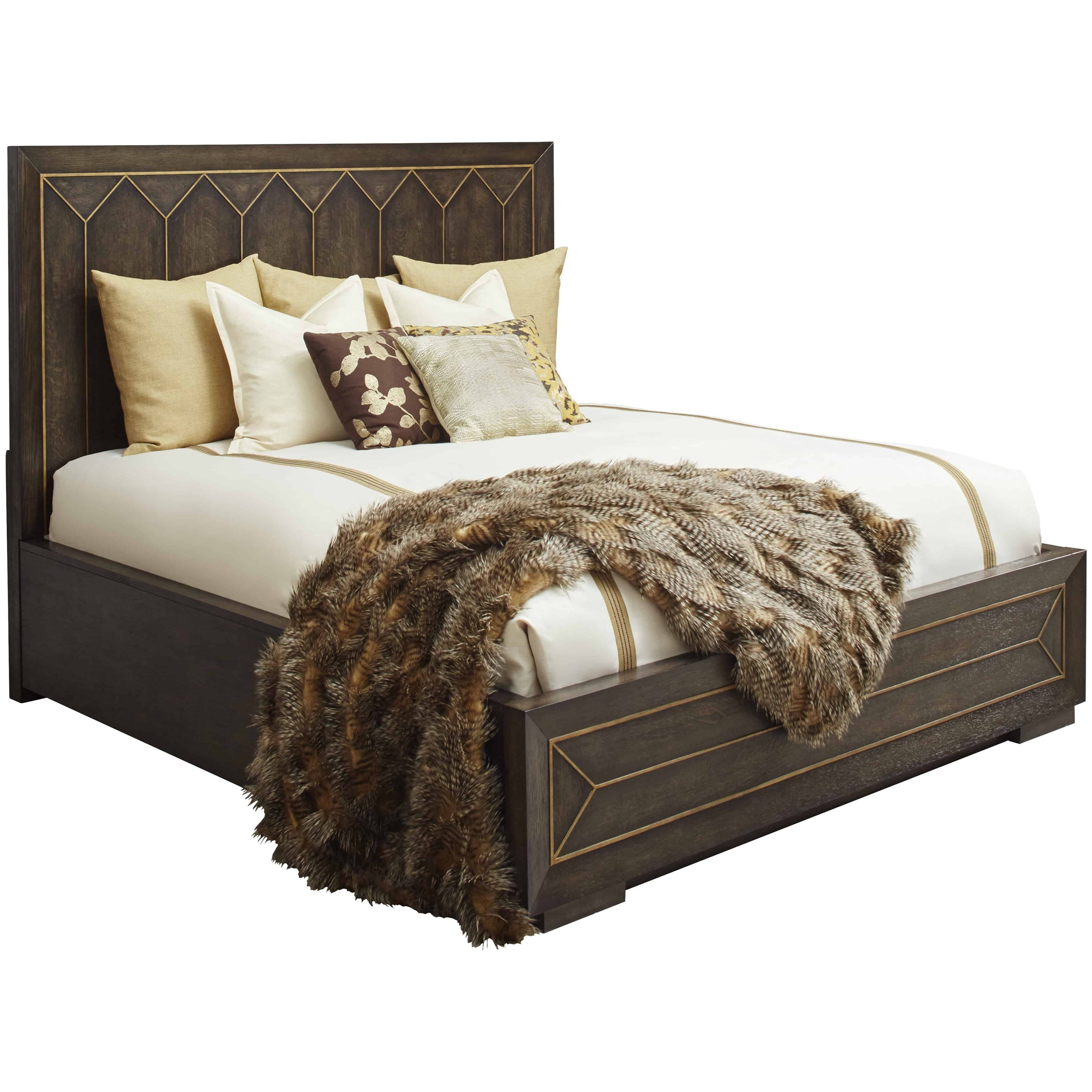 WoodWright Queen Eichler Panel Bed by A.R.T. Furniture Inc at Home Collections Furniture