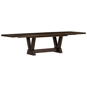 Oak Park Dining Table with Trestle Base