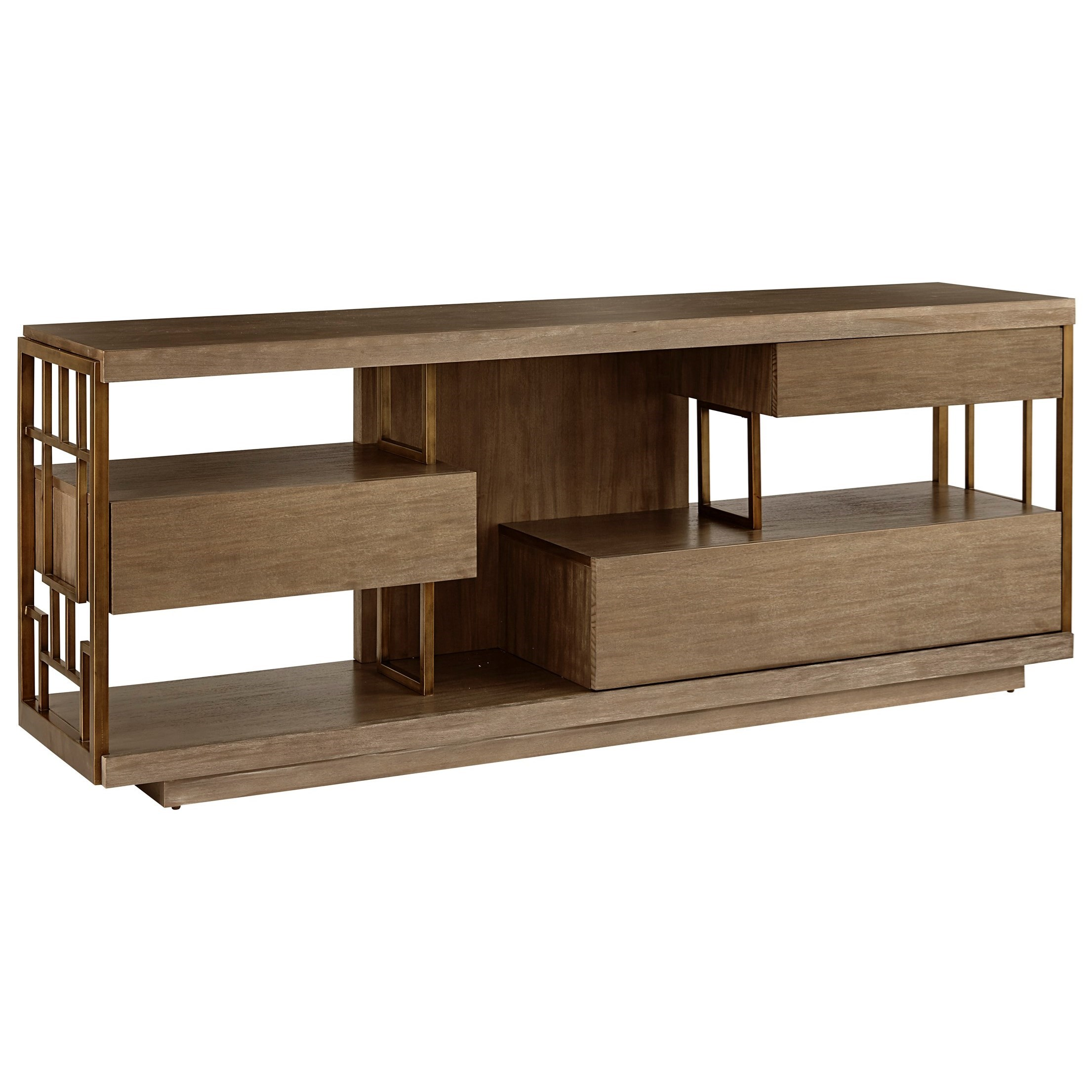 WoodWright Neutra Entertainment Console  by Klien Furniture at Sprintz Furniture