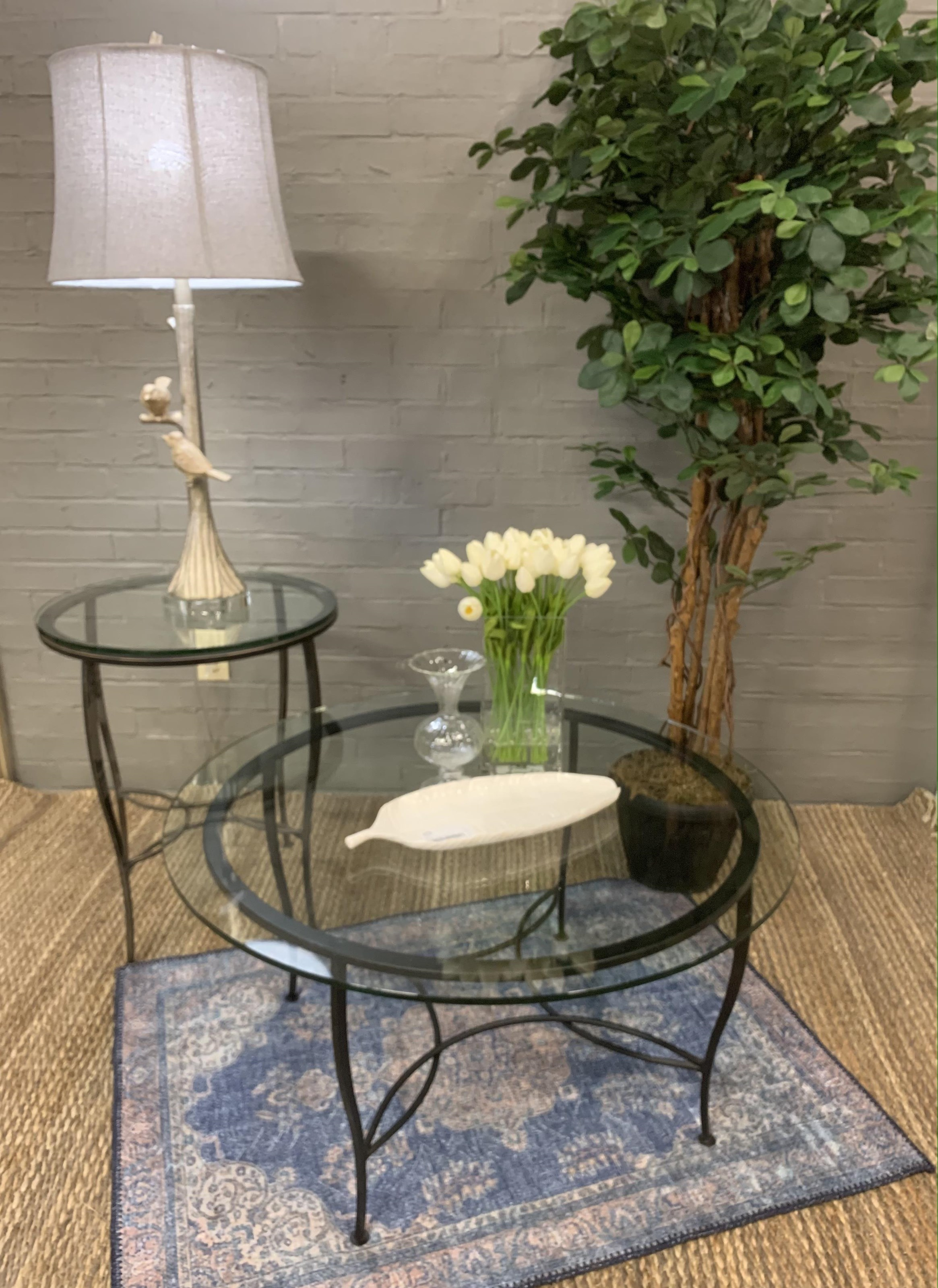 Occasional Table 2 Piece Round Cocktail Table and End Table at Stoney Creek Furniture