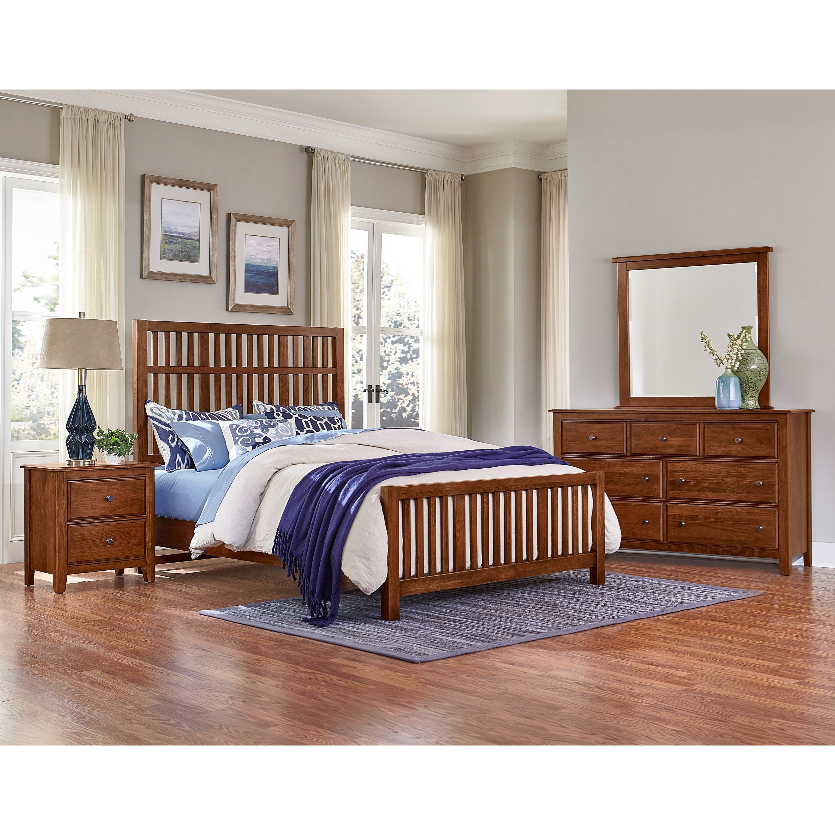 Artisan Choices Queen Bedroom Group by Artisan & Post at Goffena Furniture & Mattress Center