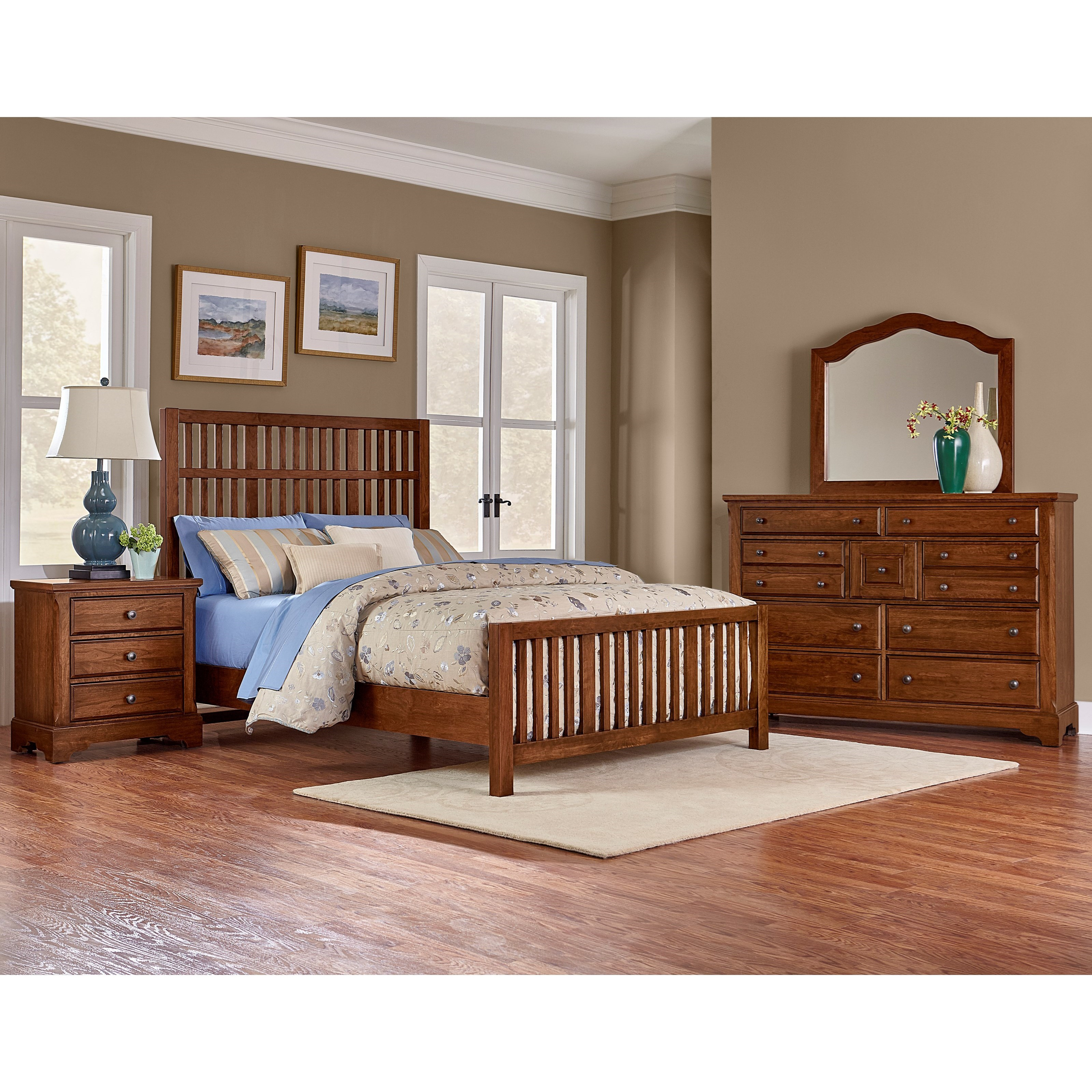 Artisan Choices King Bedroom Group by Artisan & Post at Rooms and Rest