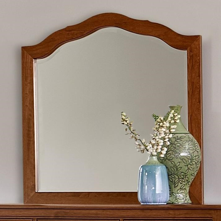 Artisan Choices Loft Tall Arched Mirror by Artisan & Post at Mueller Furniture