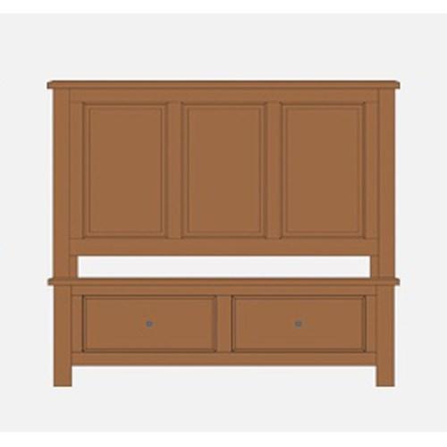 Artisan Choices King Panel Storage Bed by Artisan & Post at Crowley Furniture & Mattress