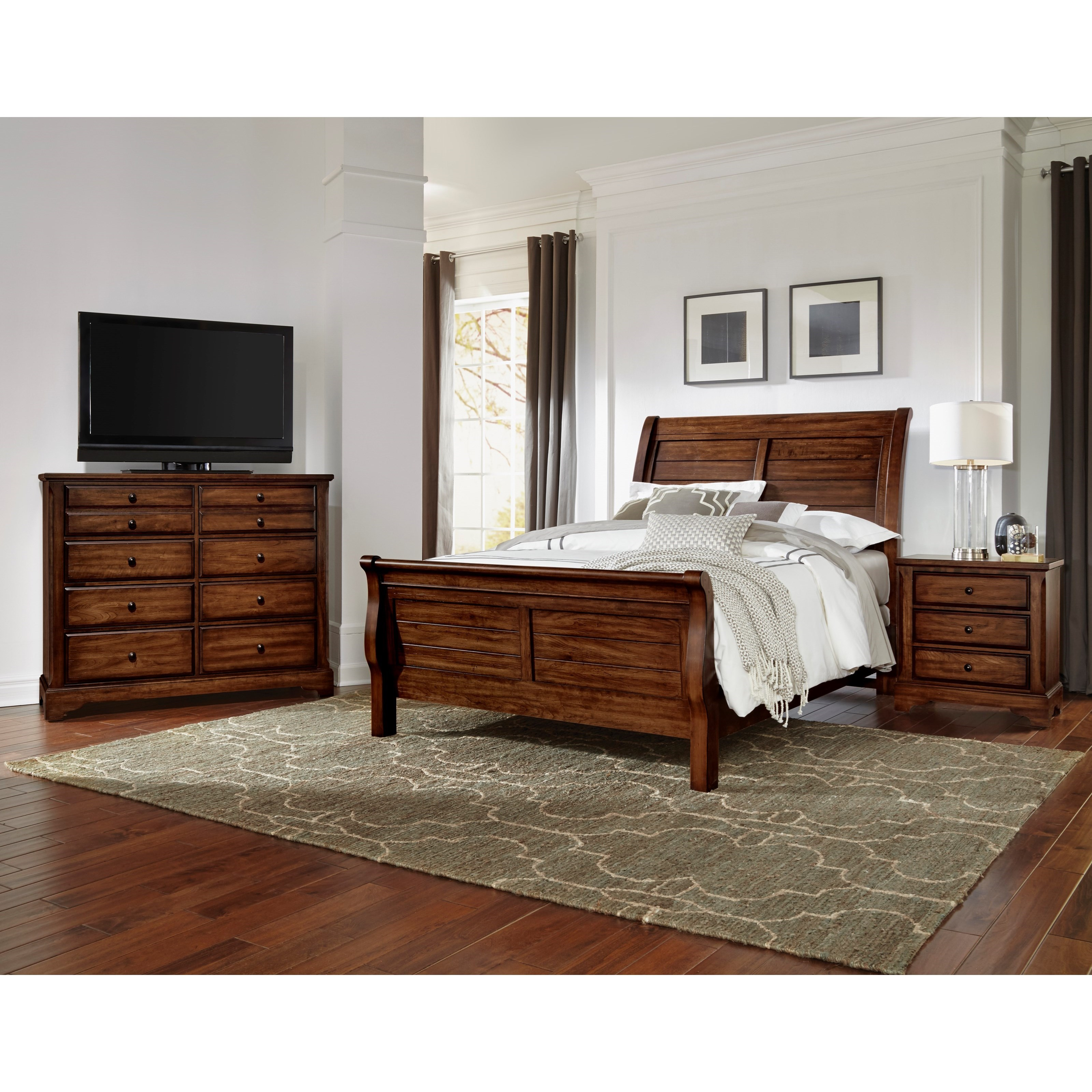 Artisan Choices Queen Bedroom Group by Artisan & Post at Northeast Factory Direct