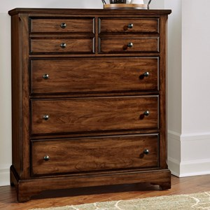 Solid Wood Villa Chest - 5 Drawers