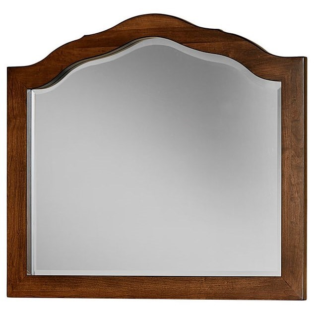 Artisan Choices Villa Arched Mirror by Artisan & Post at Lapeer Furniture & Mattress Center