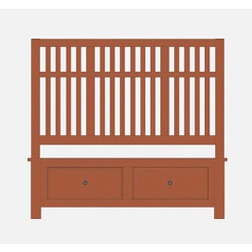 Artisan Choices Queen Craftsman Slat Storage Bed by Artisan & Post at Lapeer Furniture & Mattress Center