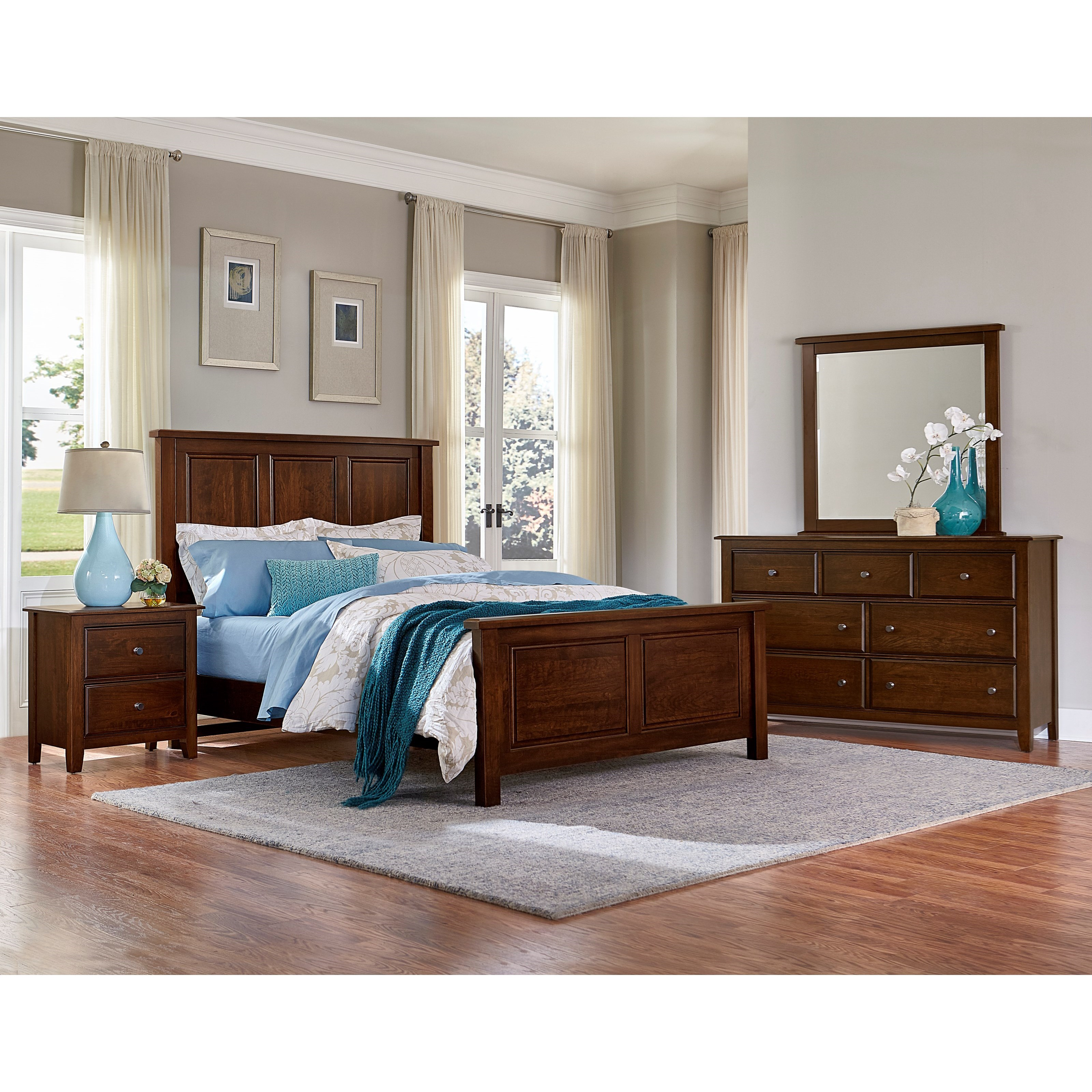 Artisan Choices Queen Bedroom Group by Artisan & Post by Vaughan Bassett at Becker Furniture