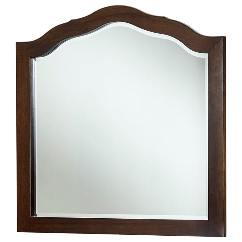 Artisan Choices Loft Tall Arched Mirror by Artisan & Post at Lapeer Furniture & Mattress Center