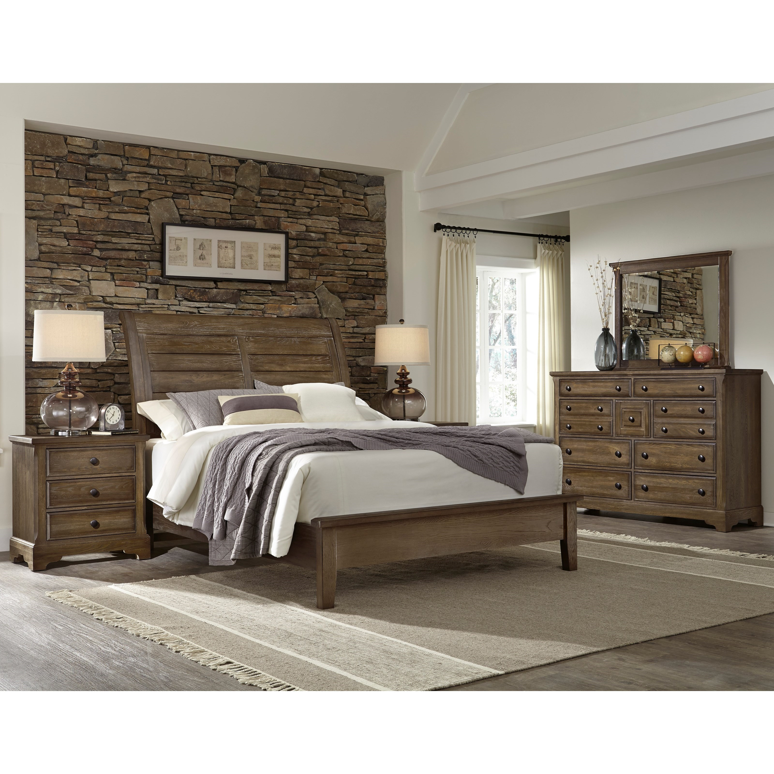 Artisan Choices Queen Bedroom Group by Artisan & Post at Crowley Furniture & Mattress