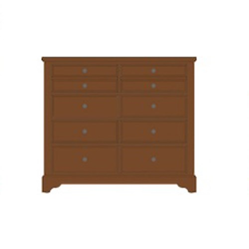 Artisan Choices Villa Media Dresser - 8 Drawers by Artisan & Post at Zak's Home