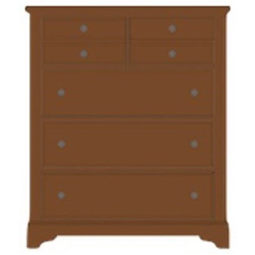 Artisan Choices Villa Chest - 5 Drawers by Artisan & Post at Mueller Furniture
