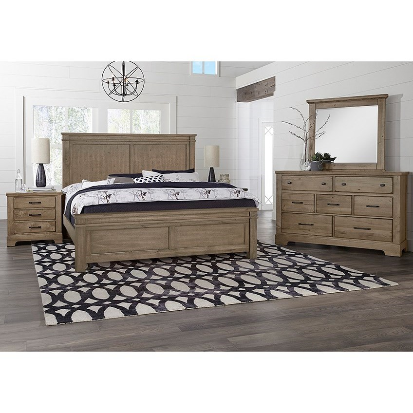 Cool Rustic King Bedroom Group  by Artisan & Post at Northeast Factory Direct