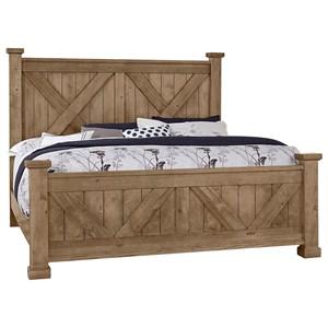 King Barndoor X Bed