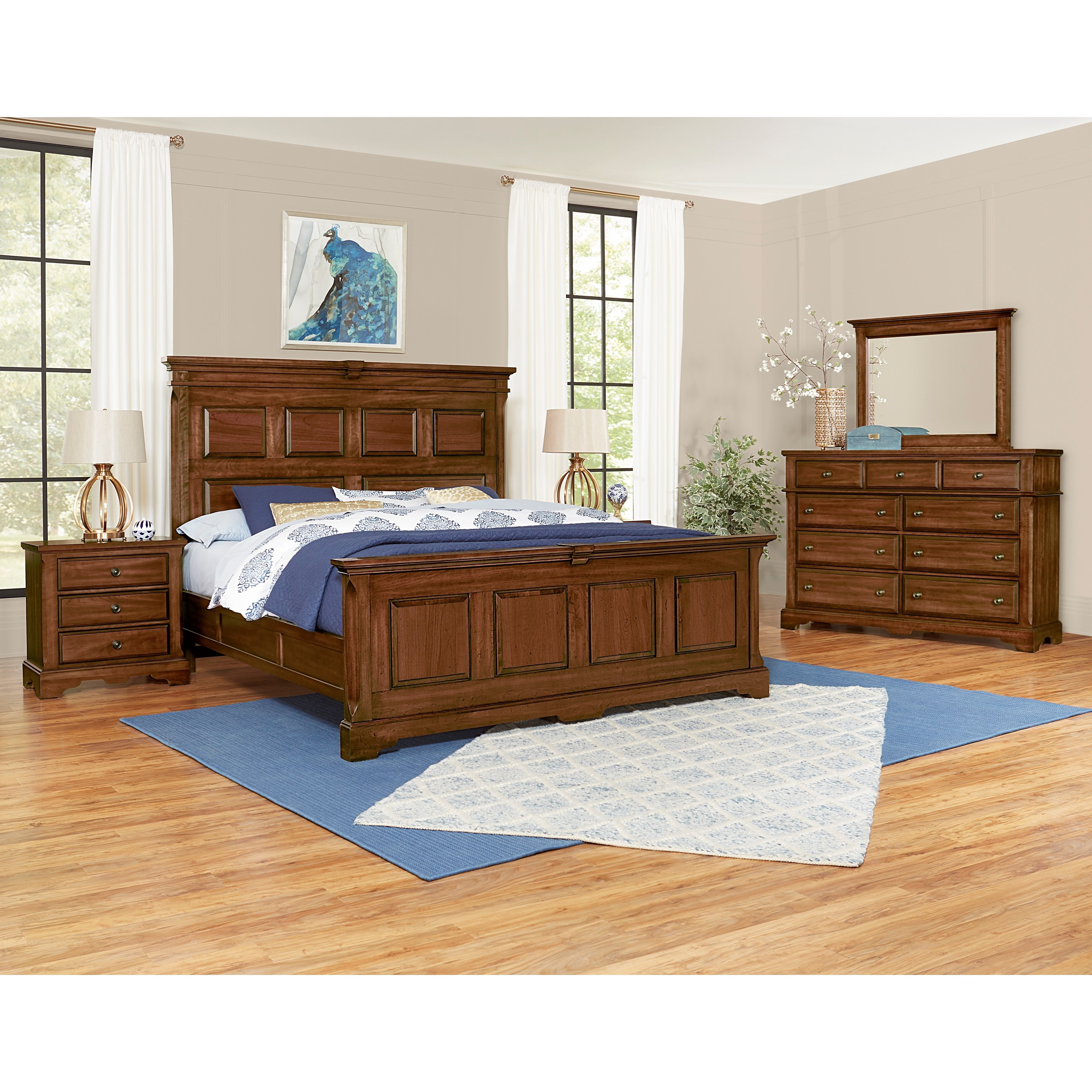 Heritage Queen Bedroom Group by Artisan & Post at Suburban Furniture