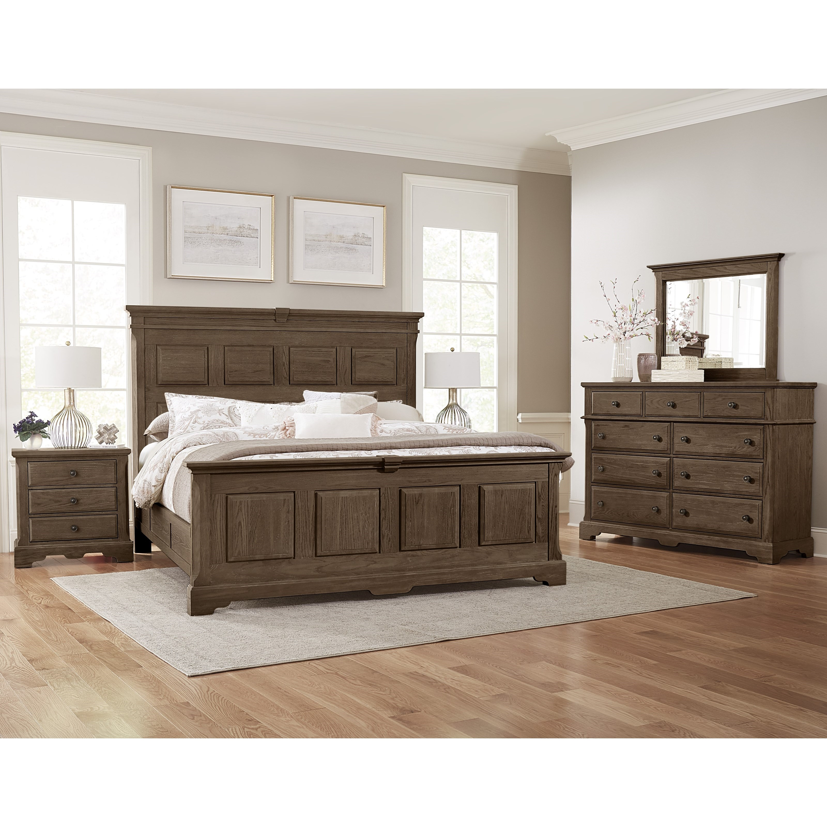 Heritage Queen Bedroom Group by Artisan & Post at Mueller Furniture