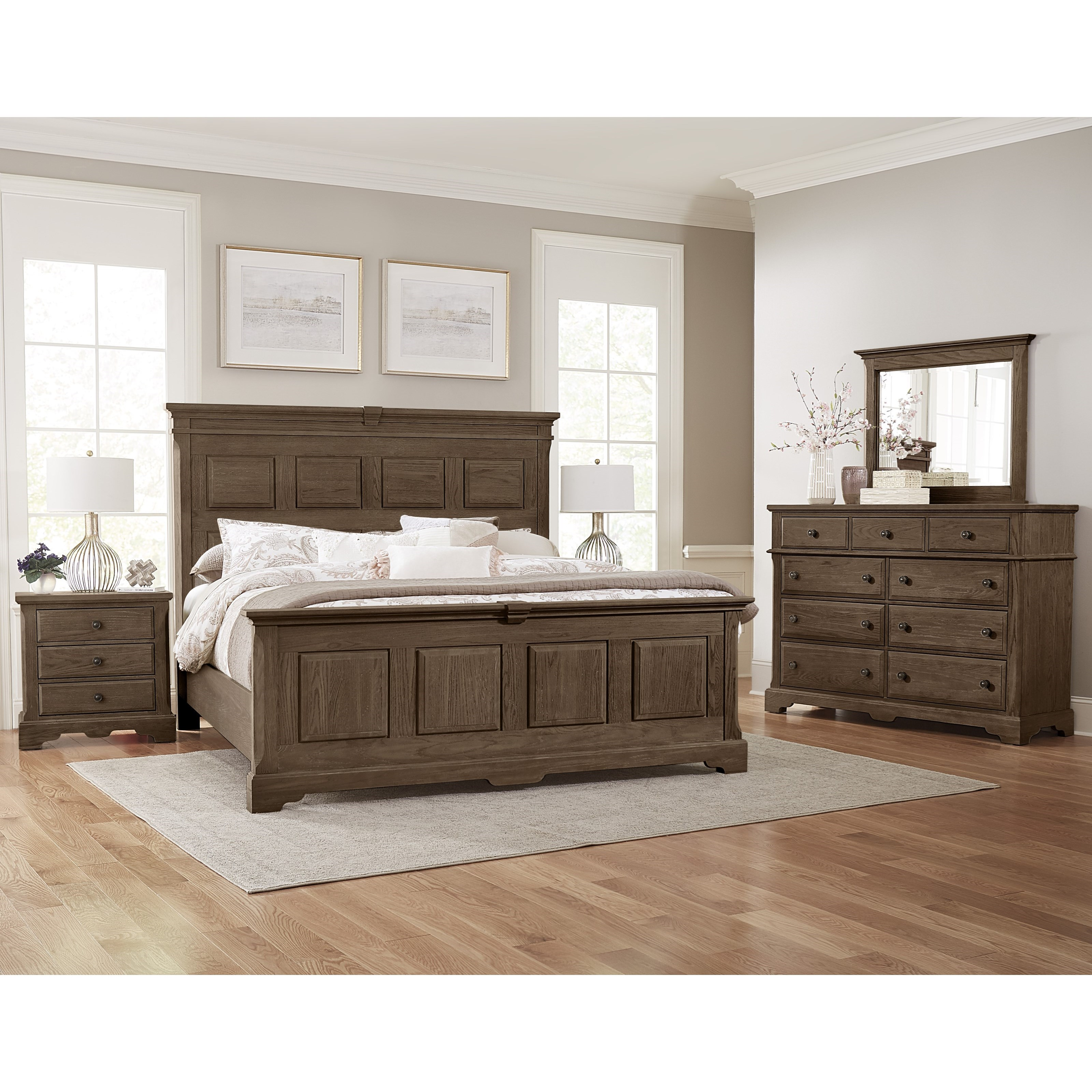 Heritage Queen Bedroom Group by Artisan & Post at Zak's Home