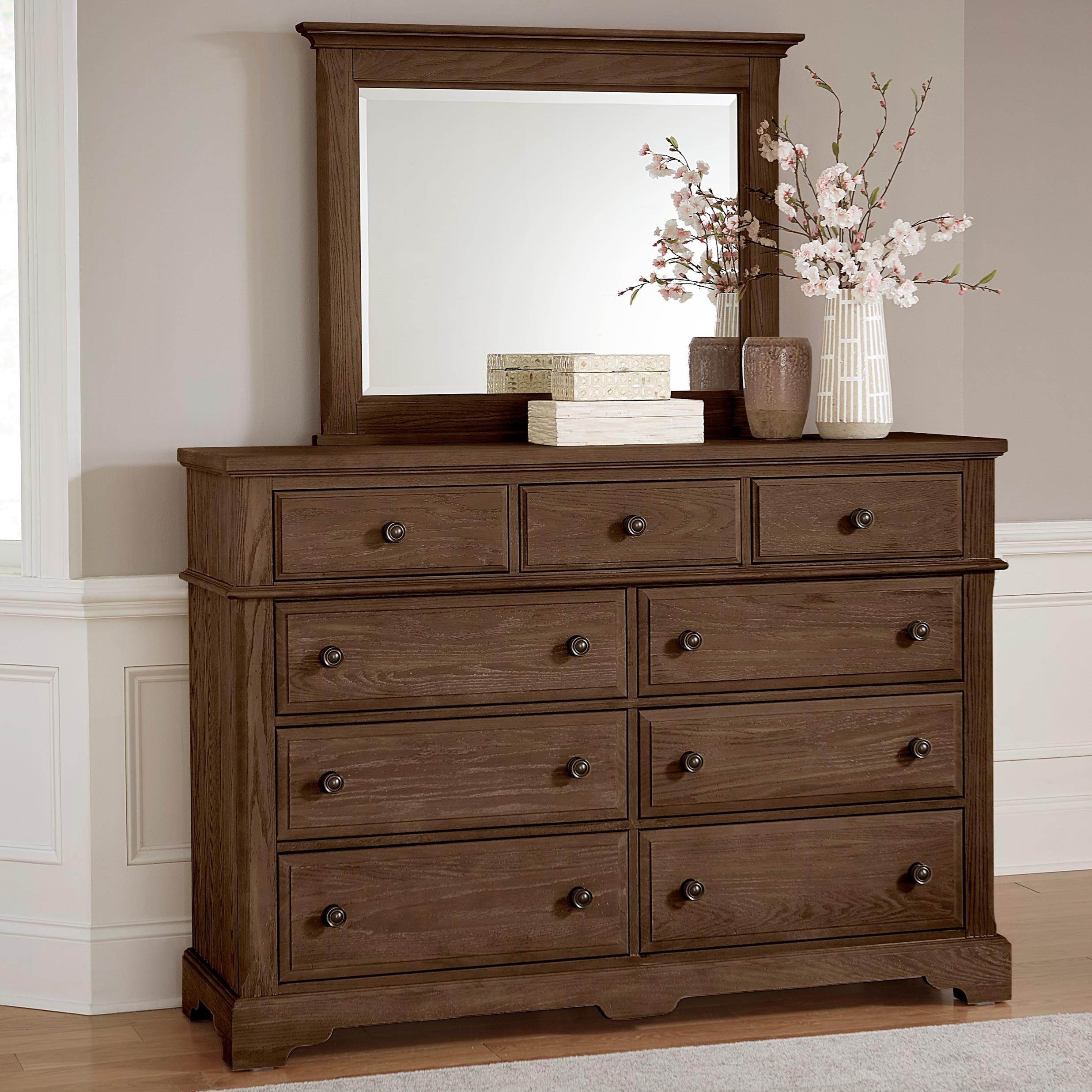 Heritage Dresser and Mirror by Artisan & Post at Northeast Factory Direct