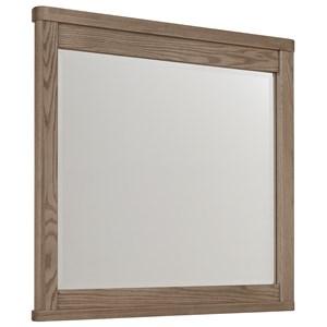 Beveled Glass Landscape Dresser Mirror with Beveled Glass