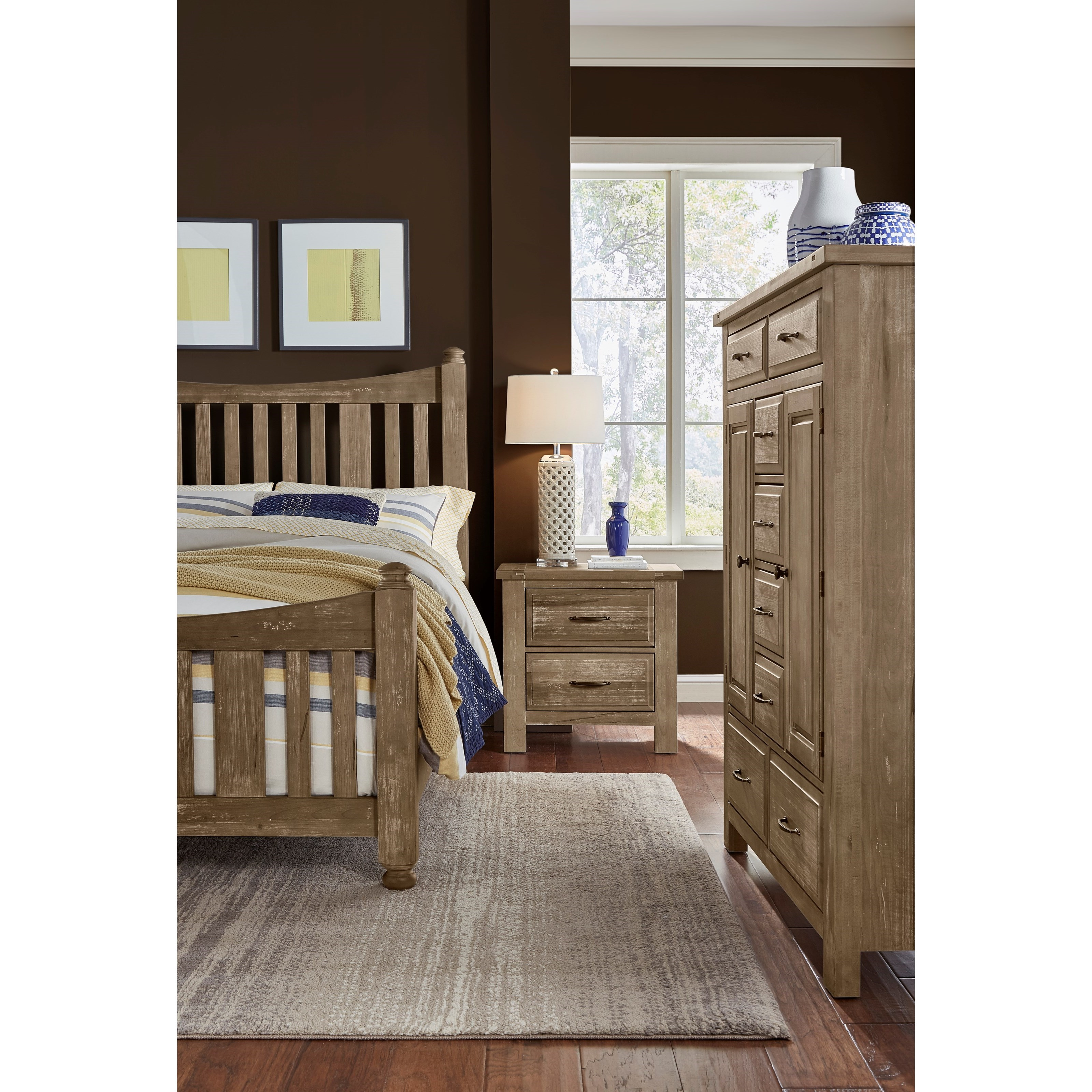 Maple Road King Bedroom Group by Artisan & Post at Northeast Factory Direct