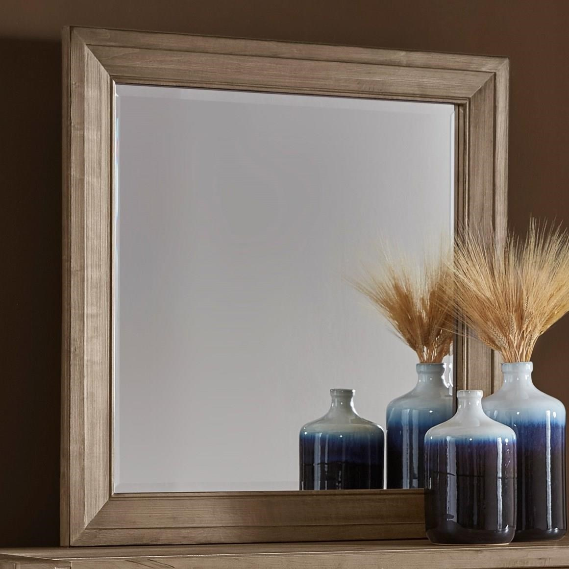 Maple Road Landscape Mirror - Beveled glass by Artisan & Post at Northeast Factory Direct
