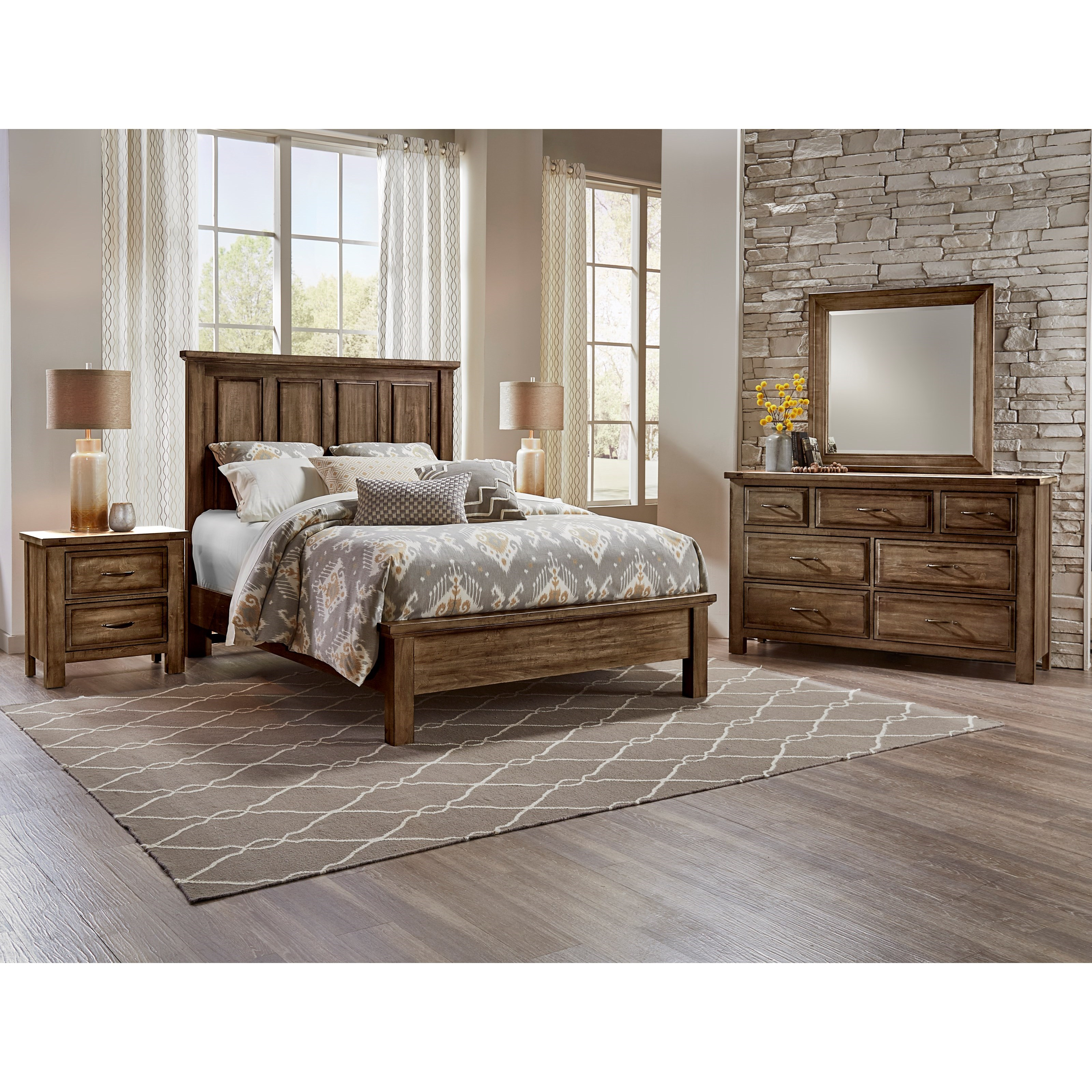 Maple Road King Bedroom Group by Artisan & Post at Gill Brothers Furniture