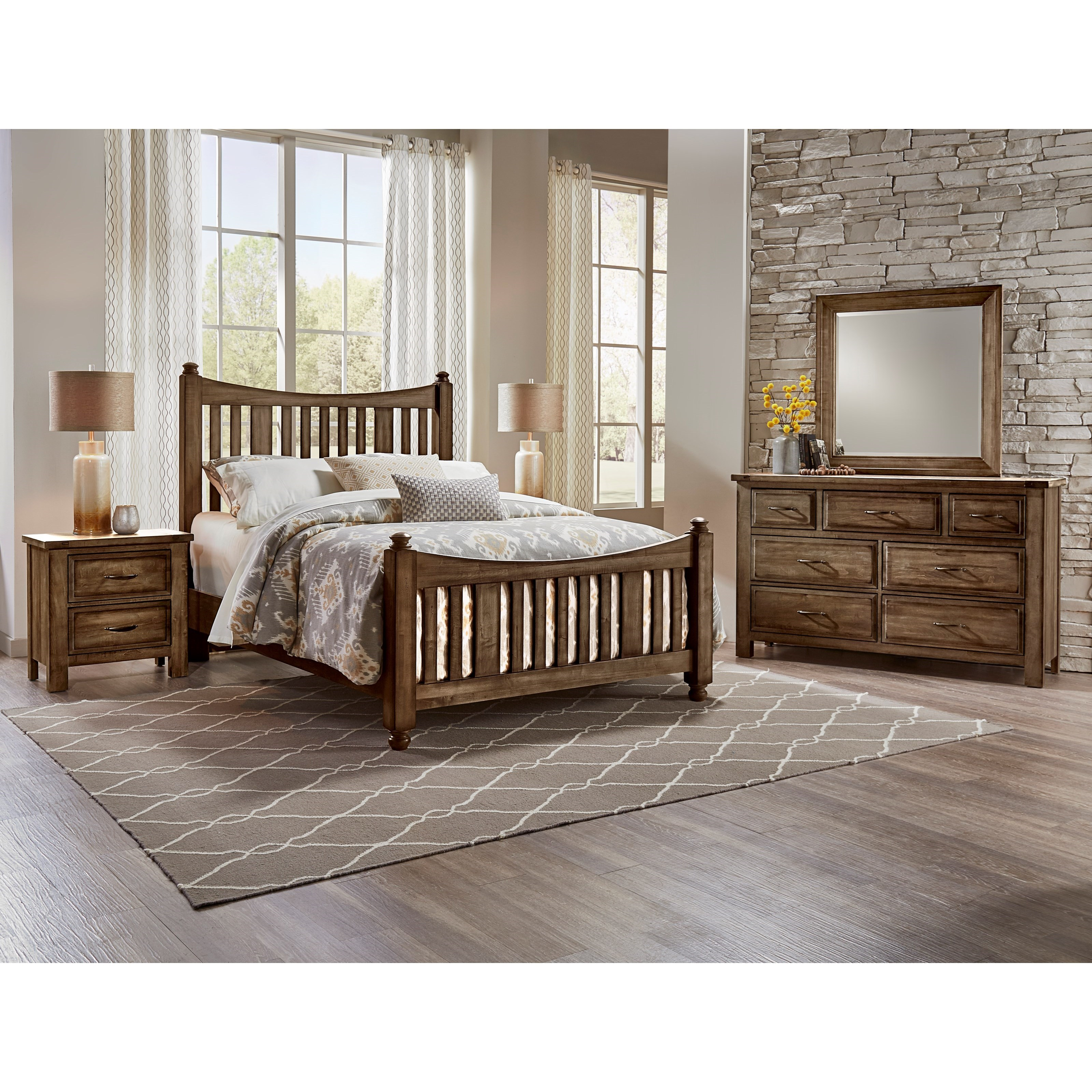 Maple Road Queen Bedroom Group by Artisan & Post at Northeast Factory Direct