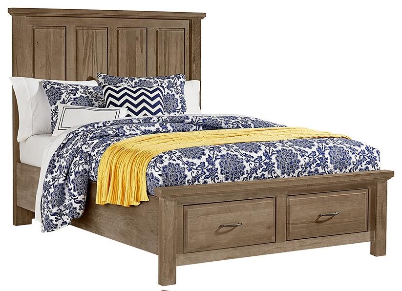 Maple Road King Mansion Storage Bed by Artisan & Post at Johnny Janosik