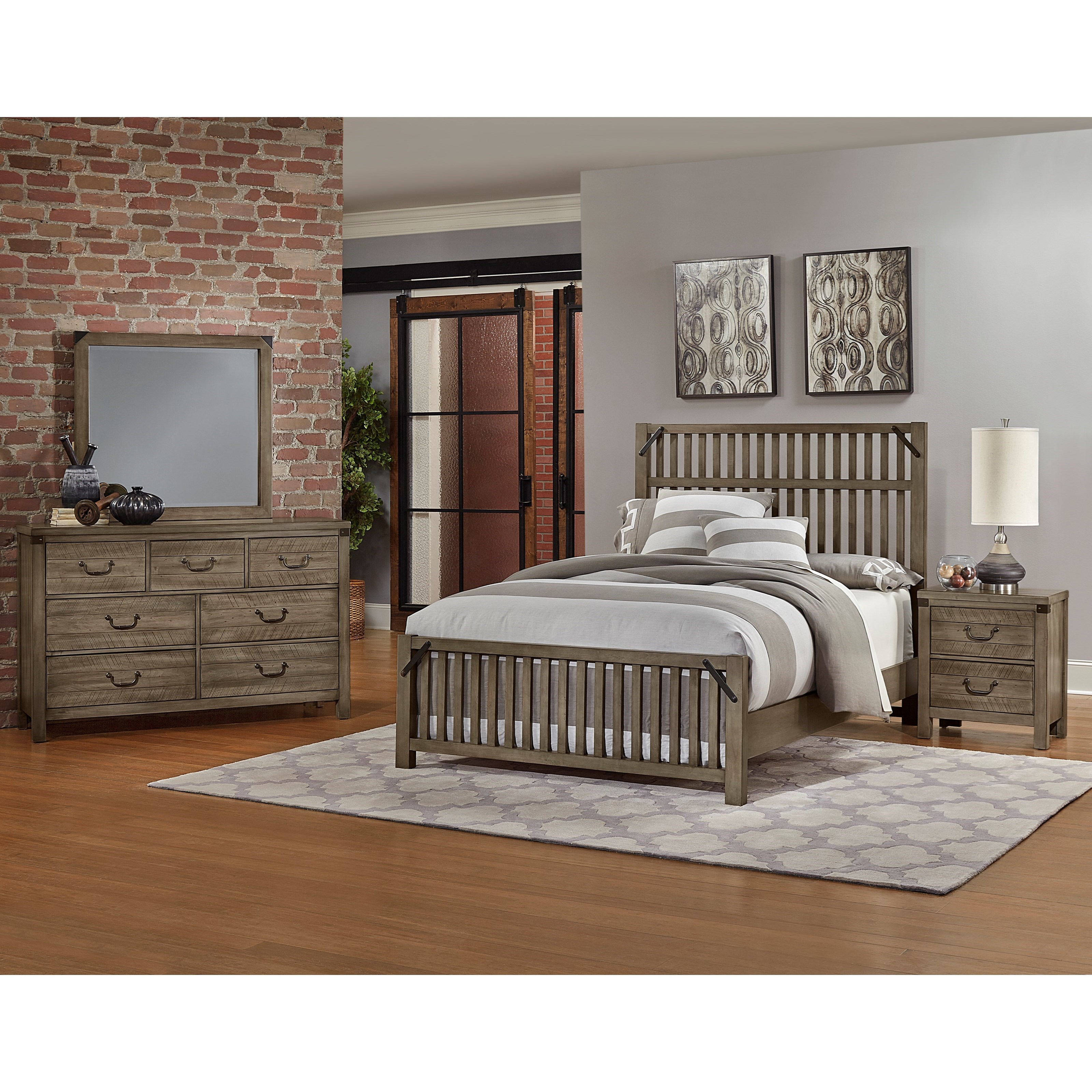 Sedgwick King Bedroom Group by Artisan & Post at Northeast Factory Direct