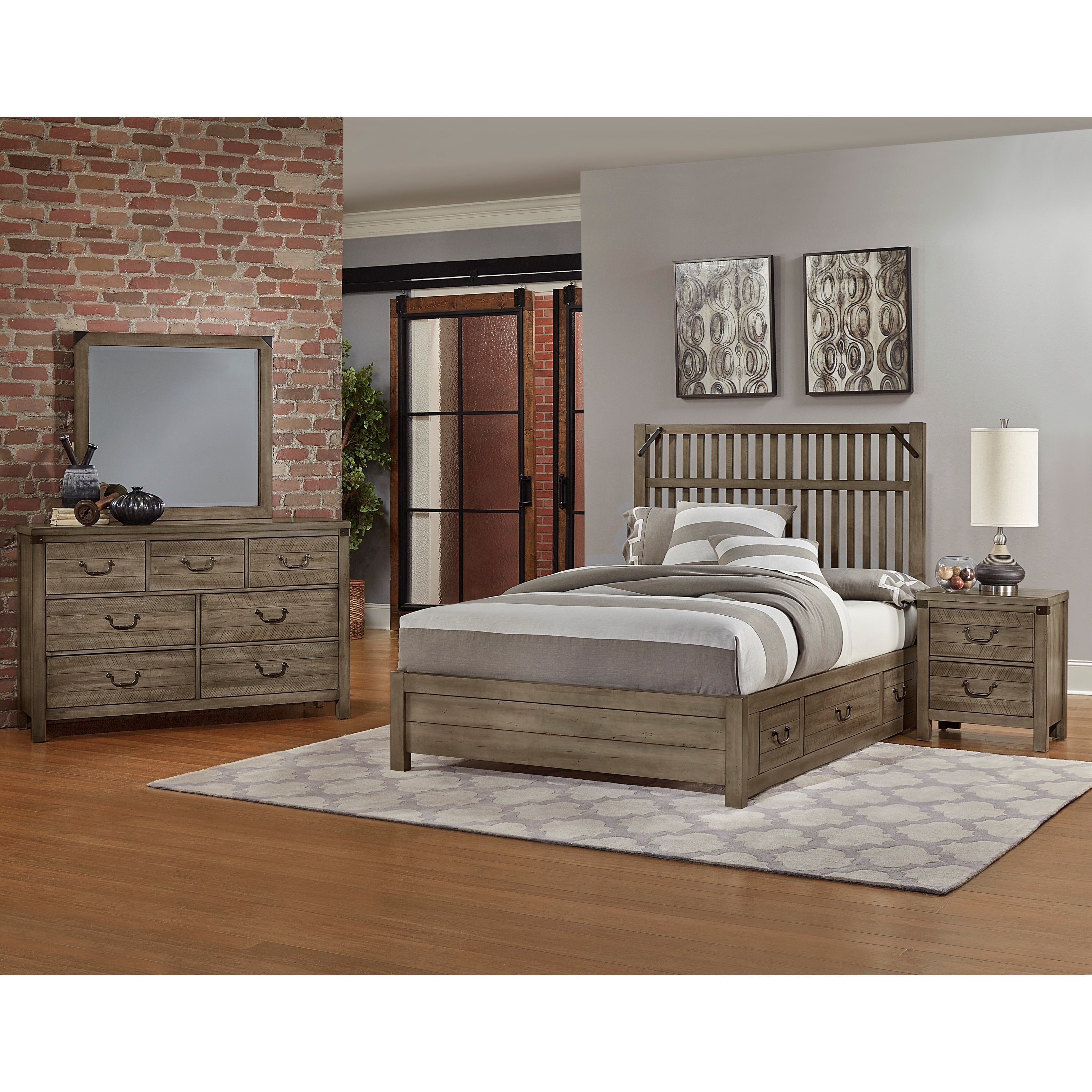 Sedgwick Queen Bedroom Group by Artisan & Post at Northeast Factory Direct