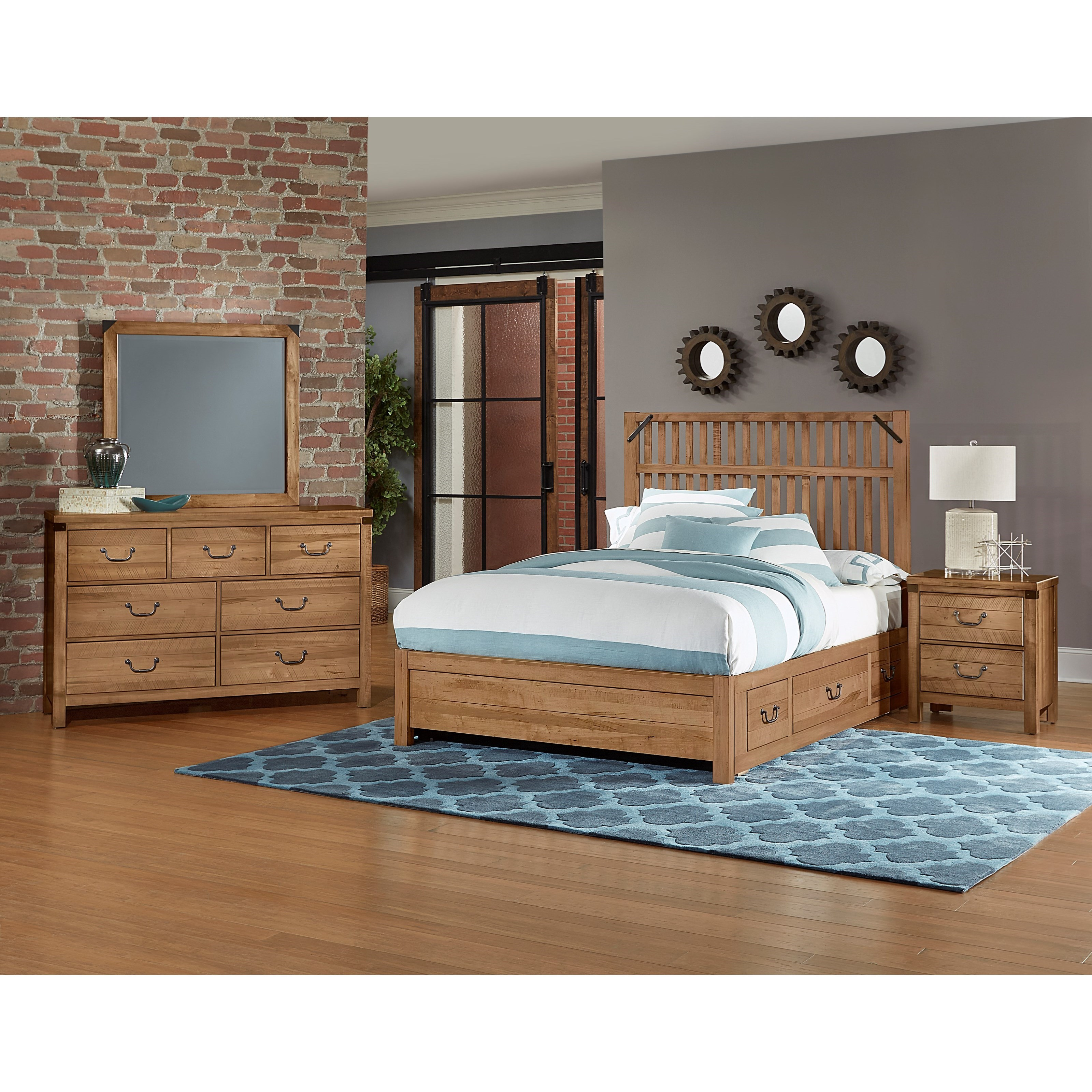Sedgwick Queen Bedroom Group by Artisan & Post at Dunk & Bright Furniture