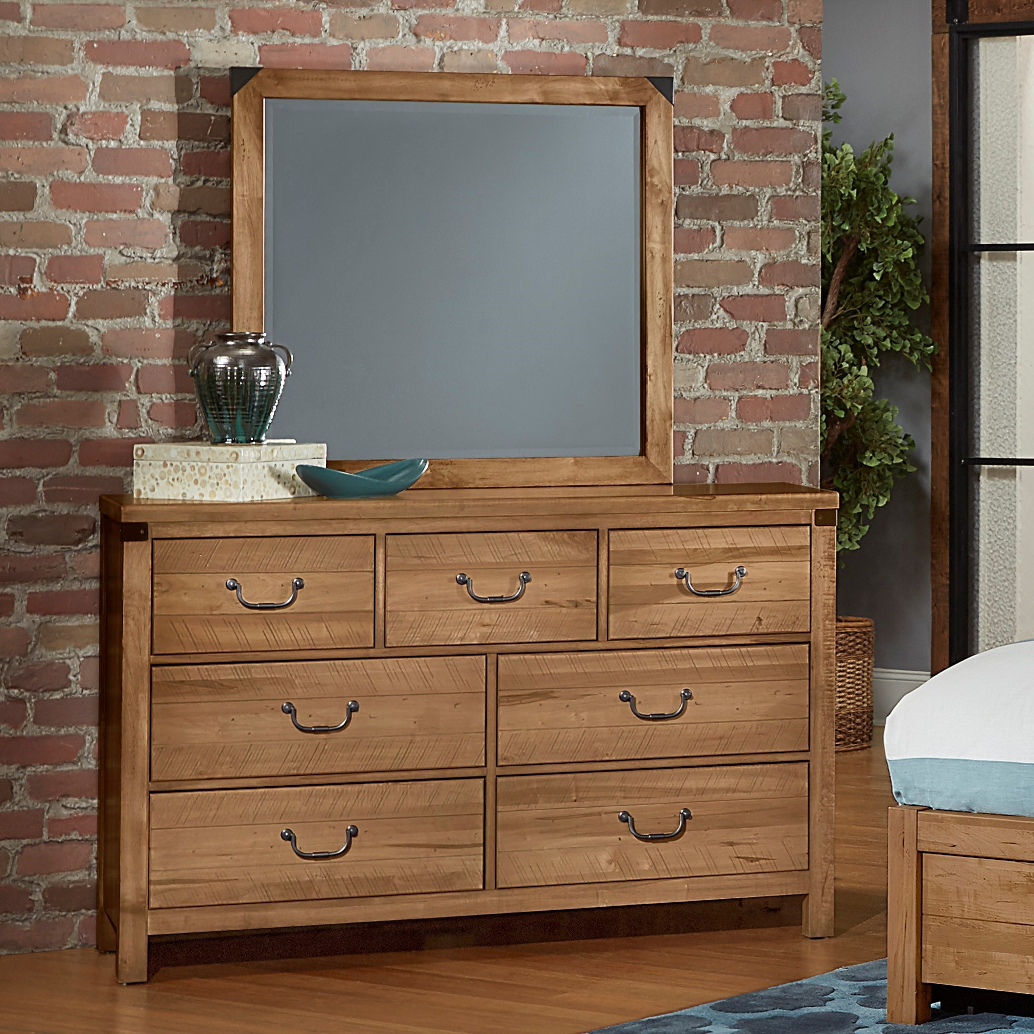 Sedgwick Dresser with Mirror by Artisan & Post at Northeast Factory Direct