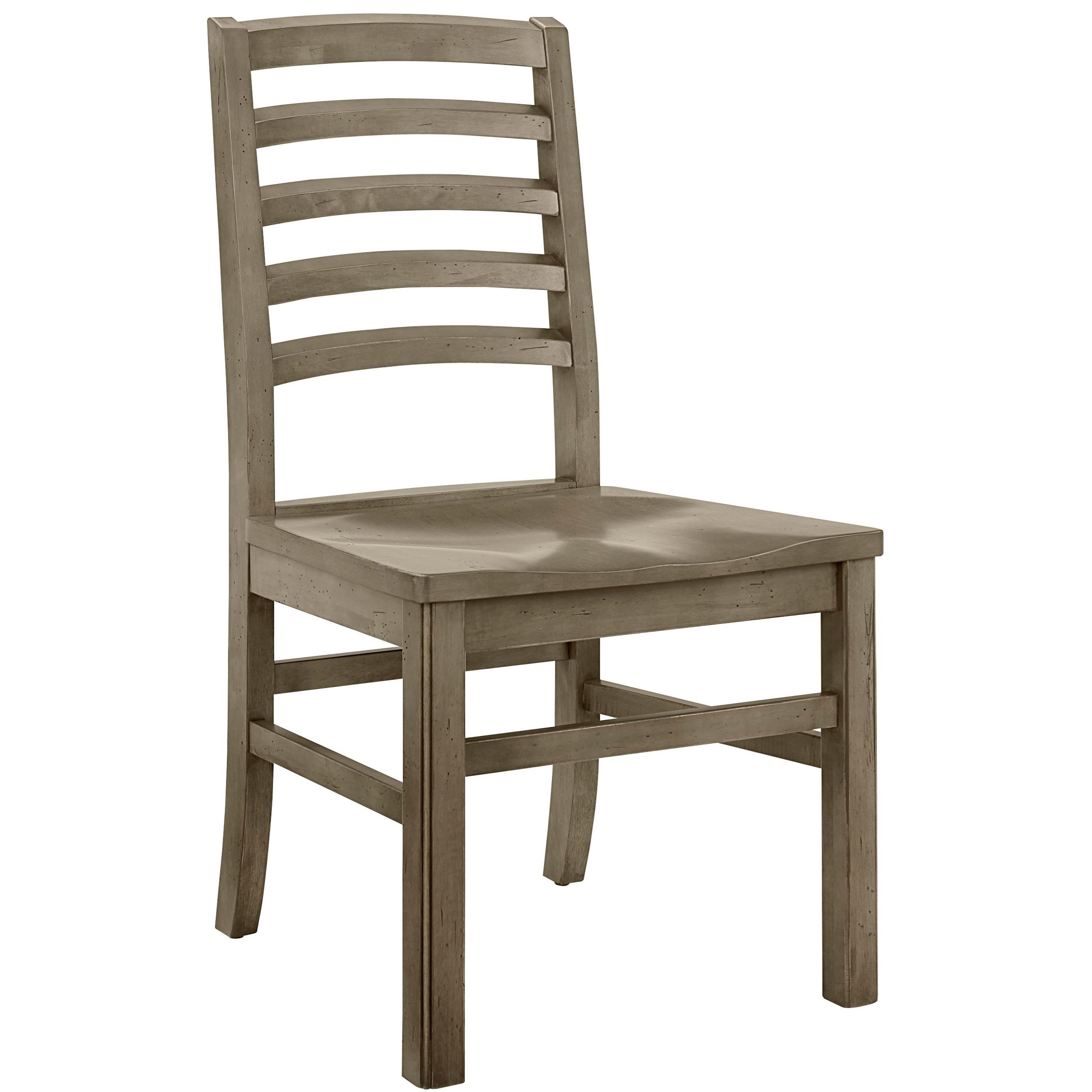 Simply Dining-Maple Horizontal Slat Side Chair by Artisan & Post at Lapeer Furniture & Mattress Center