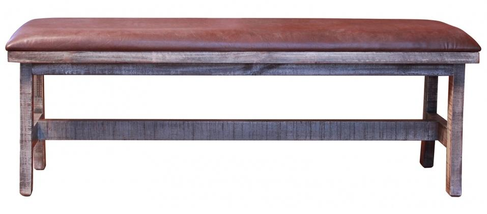 900 Antique Breakfast Bench by International Furniture Direct at Darvin Furniture