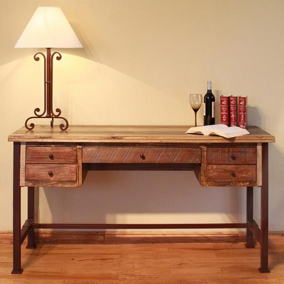 900 Antique Writing Desk by International Furniture Direct at Catalog Outlet