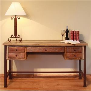 International Furniture Direct 900 Antique Writing Desk