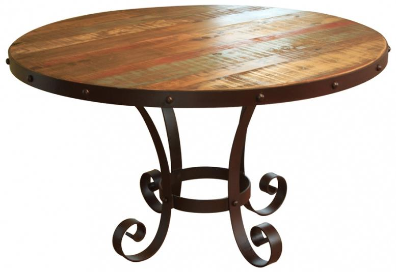 "900 Antique 51"" Round Table  by International Furniture Direct at Furniture Superstore - Rochester, MN"