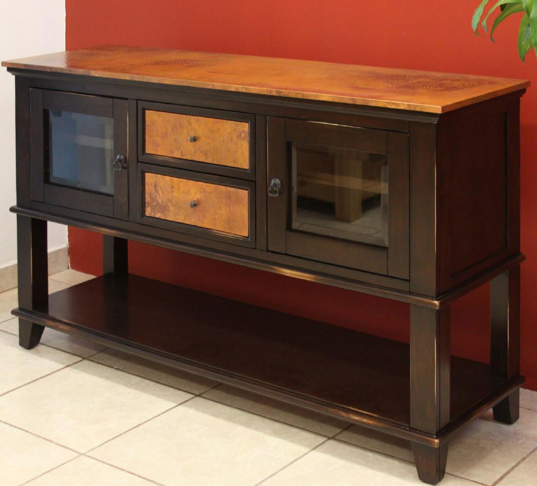 960 Copper Ridge Server by International Furniture Direct at Westrich Furniture & Appliances