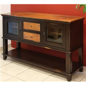 Copper Ridge Server w/ Lower Shelf