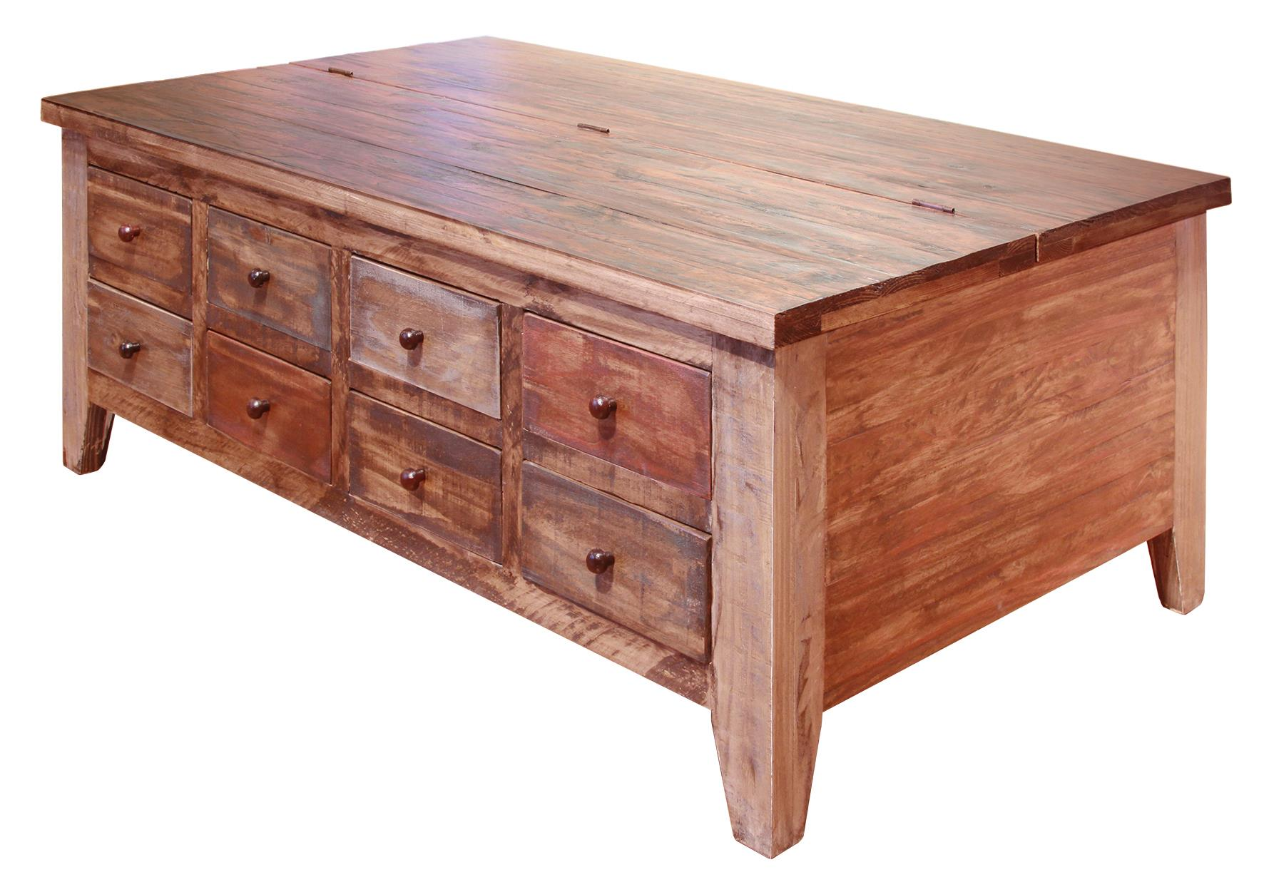 Antique Cocktail Table by International Furniture Direct at Sparks HomeStore