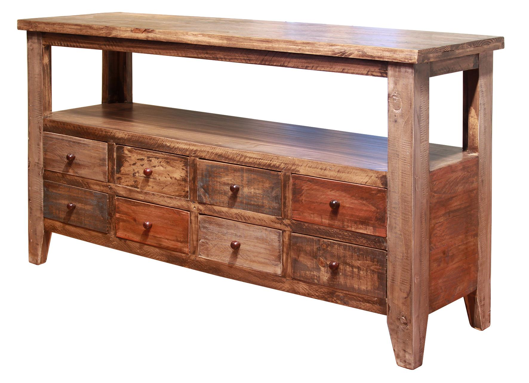 Antique Sofa Table by International Furniture Direct at Zak's Home