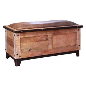 International Furniture Direct Maya Bedroom Storage Trunk